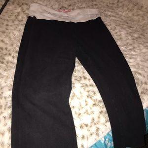 PINK Victoria's Secret Pants - Capri Pink Sweatpants